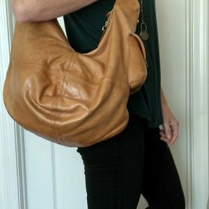 Zina Eva Leather hobo purse